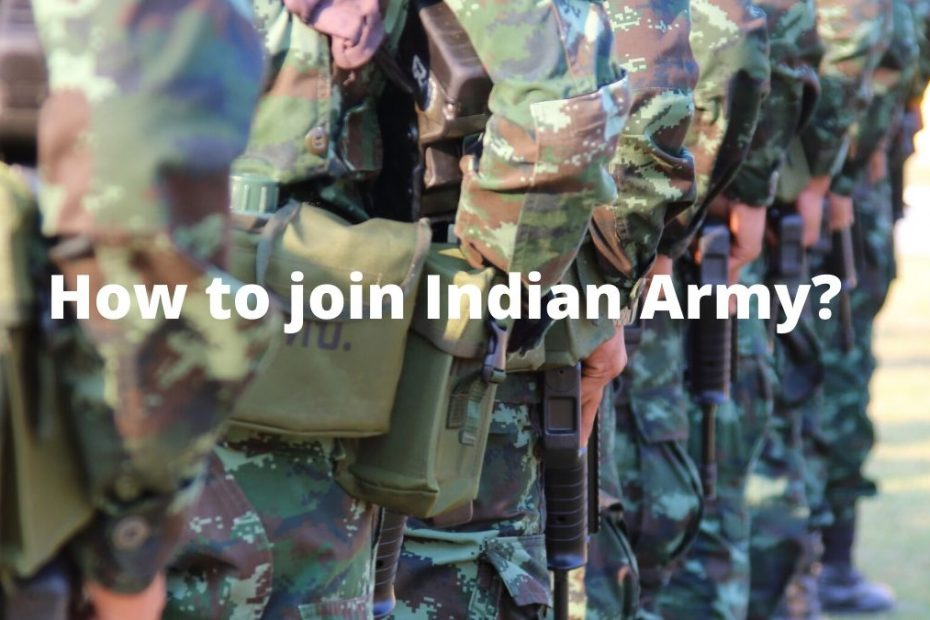How_to_Join_Indian_Army?