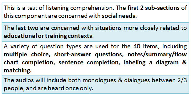 IELTS Syllabus 2020: Important Facts for Listening Section