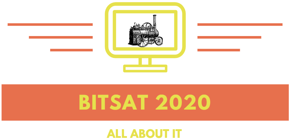Figure 1 : BITSAT exam 2020