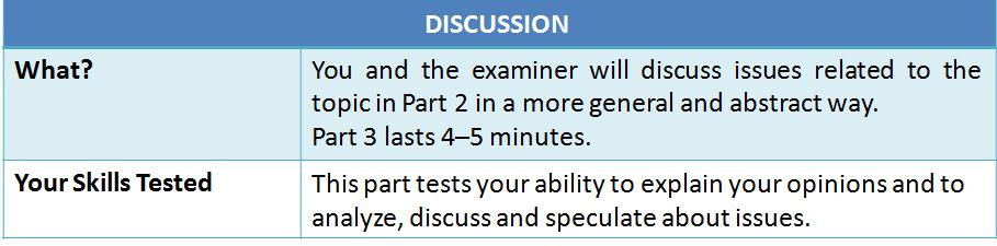 IELTS vs. TOEFL: IELTS Speaking Part 2