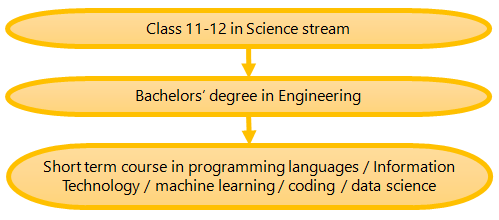 (Figure) How to become a Software Engineer Pathway 3