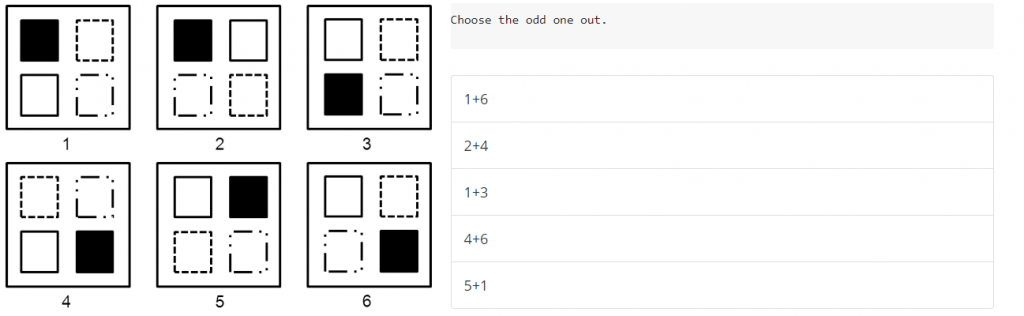 What is aptitude test: Abstract Reasoning Ques Eg.