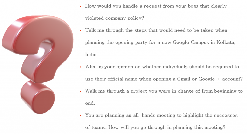 How To Get Job In Google: Questions You Can Be Asked